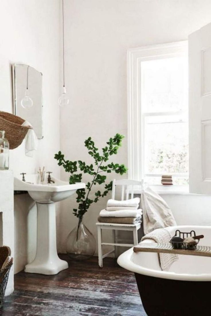 Rustic bathroom designs the key is to be bold original and - Use Flower Power To Decorate Your Living Space