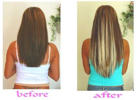 279 best Before & After Hair Extensions images on Pinterest | Hair ...