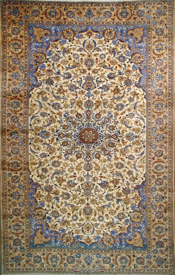 Esfahan Persian Rug= timeless