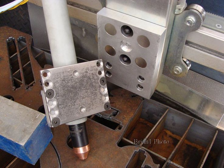 Magnetic Breakaway CNC Plasma Torch Holder by Brian1 -- Homemade CNC plasma torch holder featuring magnetic breakaway. System was designed entirely in Solidworks. http://www.homemadetools.net/homemade-magnetic-breakaway-cnc-plasma-torch-holder