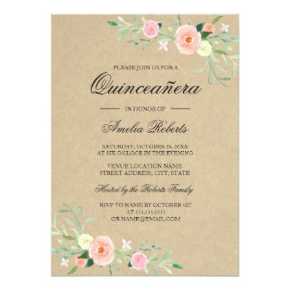 Best 25 Quinceanera invitations ideas on Pinterest Coral