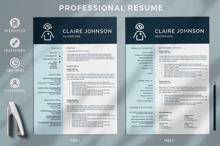 2_1820x1214 in 2020 nursing resume template