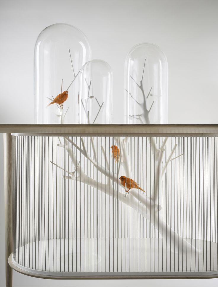 17 meilleures id es propos de d cor de cage oiseaux for Cages a oiseaux decoratives