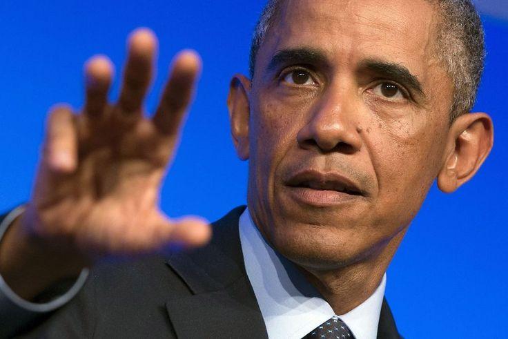 USAs president Barack Obama planlegger luftangrep mot IS også i Syria. Her fra NATO-toppmøtet i Wales forrige uke.