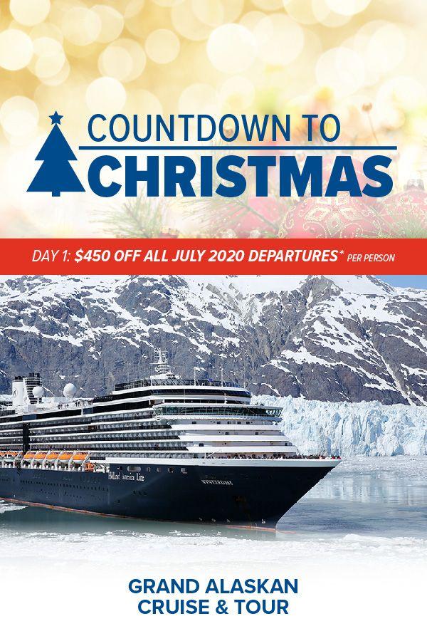 Best Travel Deals Christmas 2020 Countdown to Christmas Day 1 | Alaskan cruise, European cruises