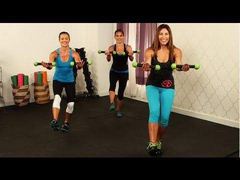 Zumba Workout, Full Body Fitness, Class FitSugar - YouTube