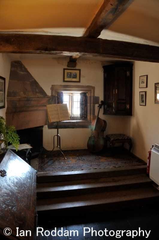 Lindisfarne Castle music room