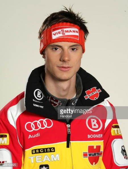 Andreas Wank poses during a photocall at the German athlete Winter kit preview at the adidas Brand Center on October 28 2009 in Herzogenaurach Germany