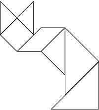 Printable tangram templates - cover foam board in felt and cut out.  Lots of fun!