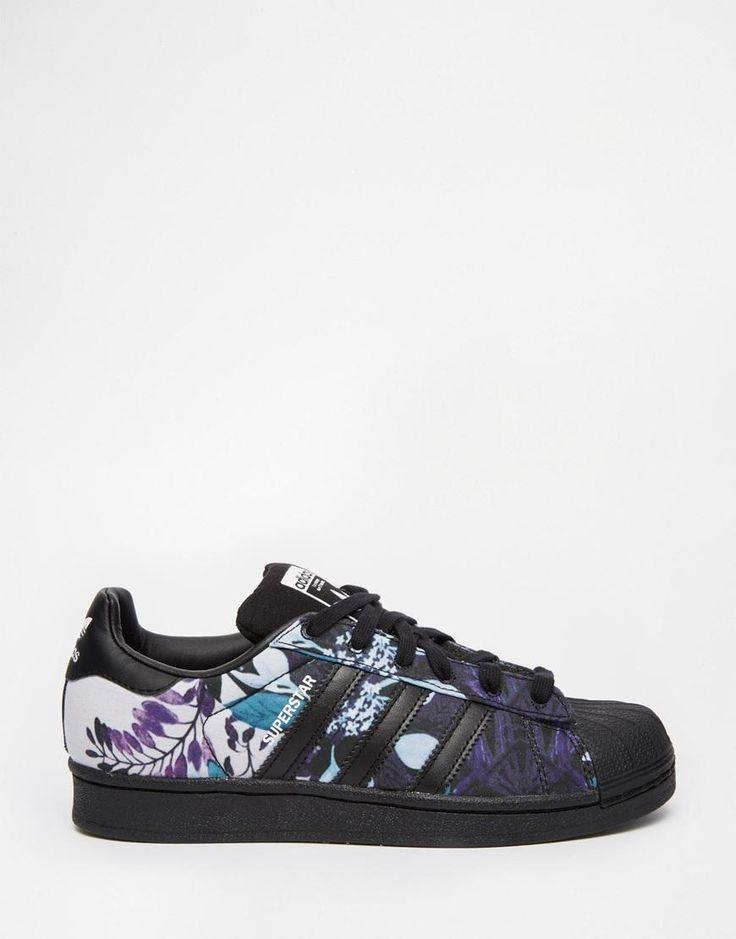 Adidas Superstar Floral Print