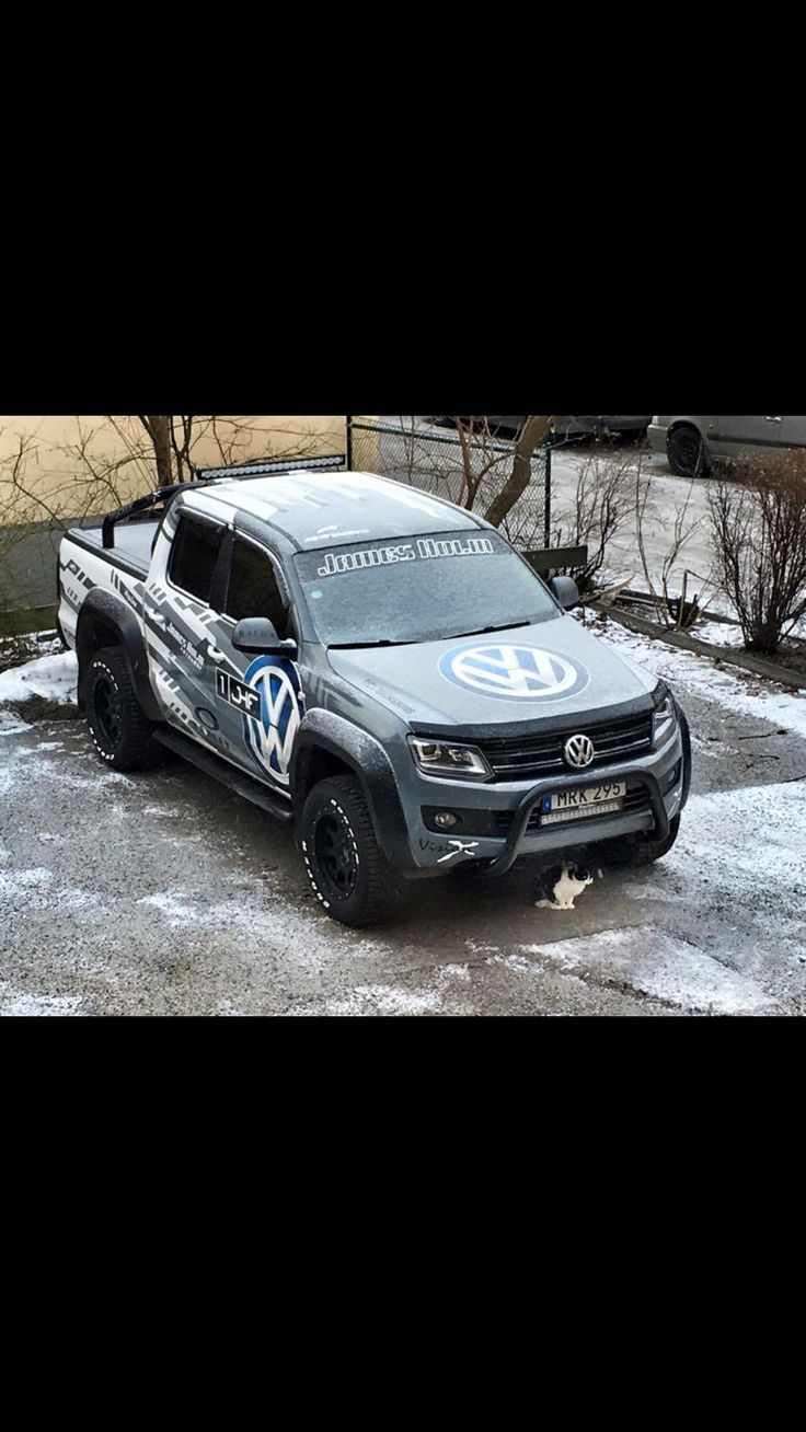 Too bad this Volkswagen truck isn't available in the US.