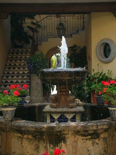 248 best images about water fountains for the garden on for Mexican style outdoor fountains