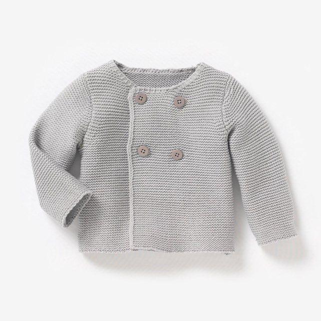 Cardigan en jersey, bébé, filles et garçons R baby: prix, opinion et score, le …   – knitting for baby boy