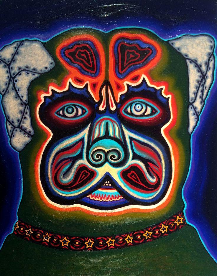 "War Dog Oil On Canvas 20"" X 16"" 2015"