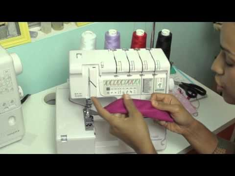 ▶ Serger Review: Janome 1100D Professional Serger - YouTube