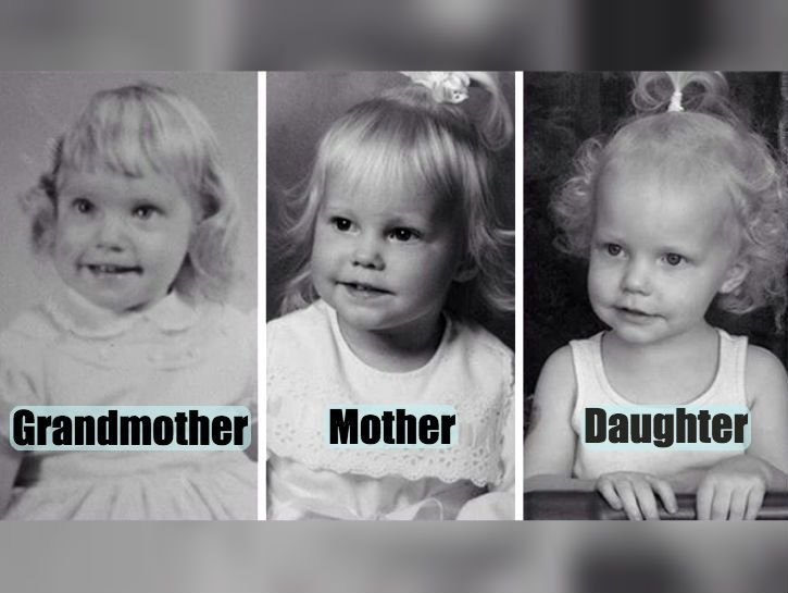15 Stunning Photos of Parents and Their Kids at the Same Age