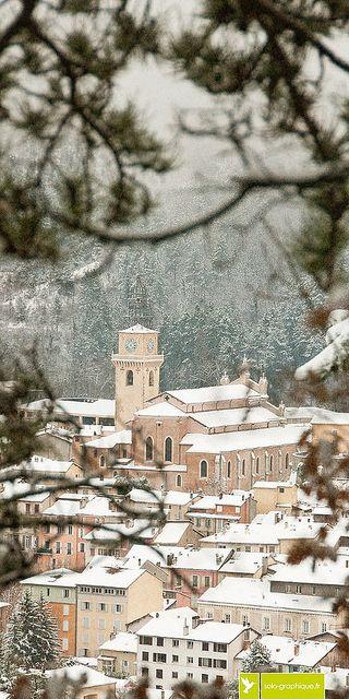 Digne-les-Bains, Alpes de Haute-Provence. 27 décembre 2014