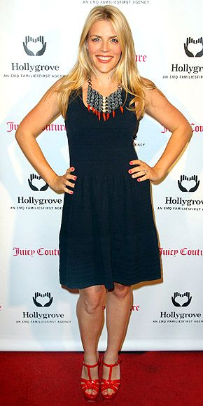 Busy Phillips in Juicy Couture