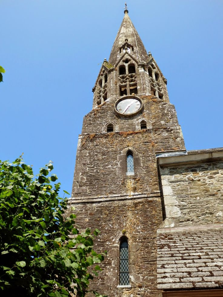 Didcovering Old Cornwall. St Bartholomew Church, Lostwithiel, Cornwall #Cornwall #Lostwithiel