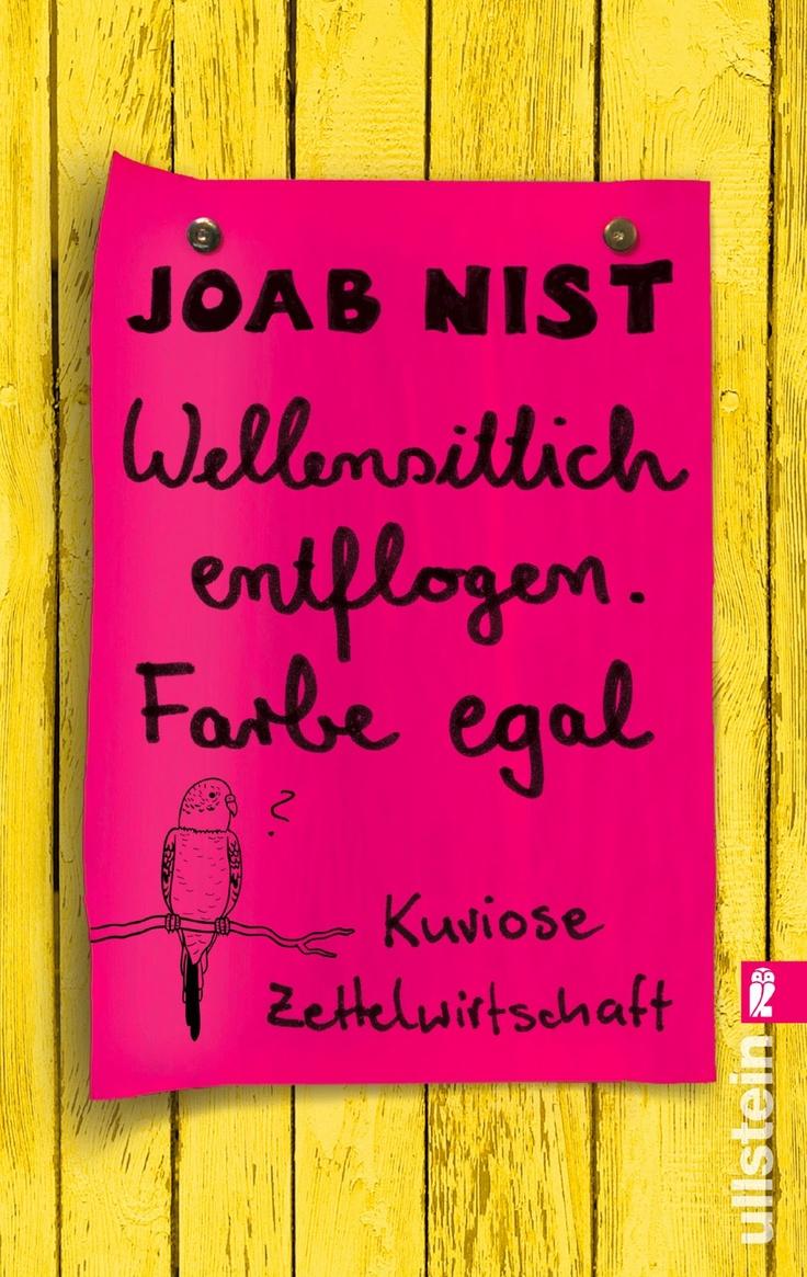 Notes of Berlin - Wellensittich entflogen. Farbe egal.