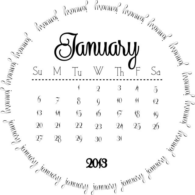 un design original... ces calendriers seront particulièrement jolis sur vos pages de scrap...