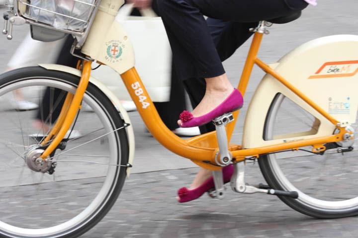 Il bike sharing del COmune