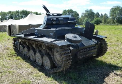 The most correct replica of Panzer II Ausf. F to date! Re-enactors Dream!