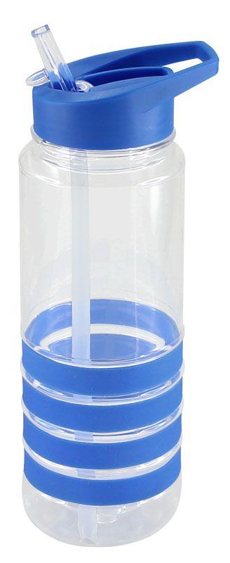 Caramayola de plástico rígido con silicona. Colores Azul y rojo