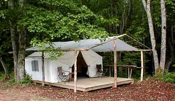 17 best images about glamping inspiration on pinterest for Tent platform design