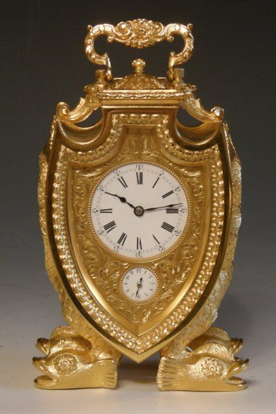 A Very Rare and Unusual French Striking and Repeating Carriage Clock by Margaine with alarm