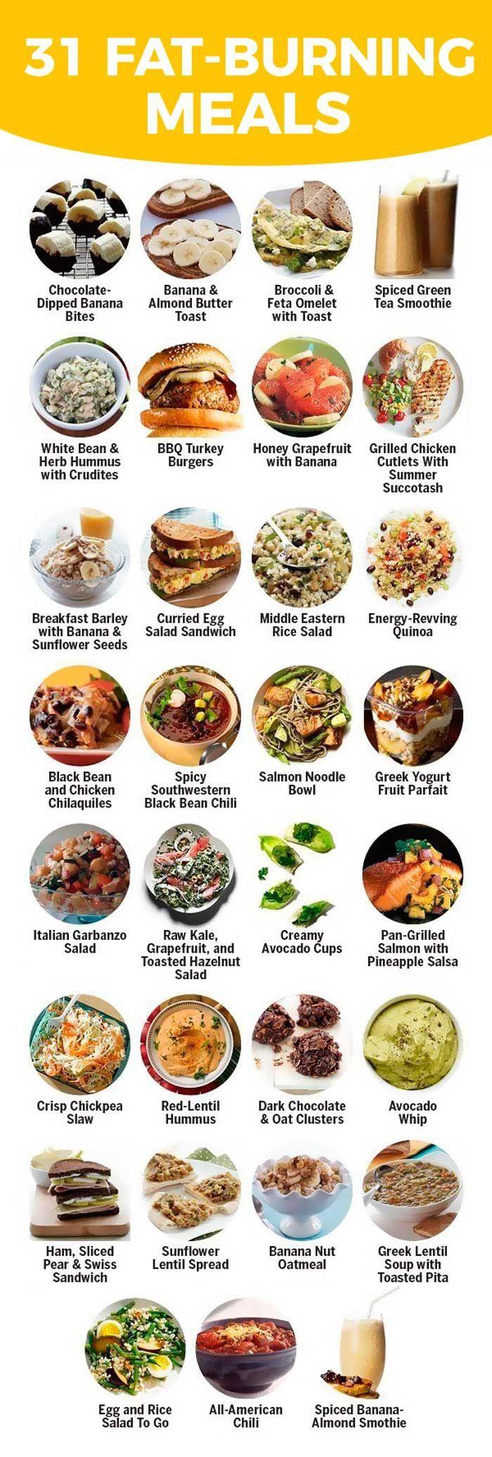 31 fat burning meals