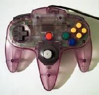 Atomic Purple Nintendo 64 Controller