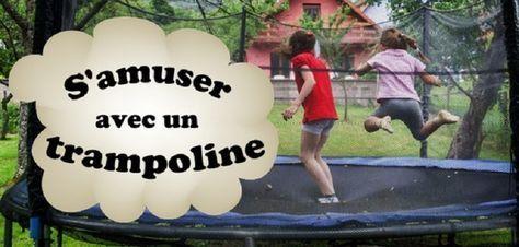 Voici quelques jeux de trampoline. Certains sont des jeux de trampoline classiques et certains sont des jeux de trampolines inventés. Tous ces jeux de trampoline sont très amusants pour les enfants et la famille. Jeux de trampoline et autres idées amusantes Jeux de trampoline Avant de mettre en place un de ces jeux ...