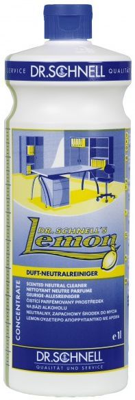 Curata rapid suprafetele si obiectele cu detergentul universal Lemon de la Dr. Schnell!