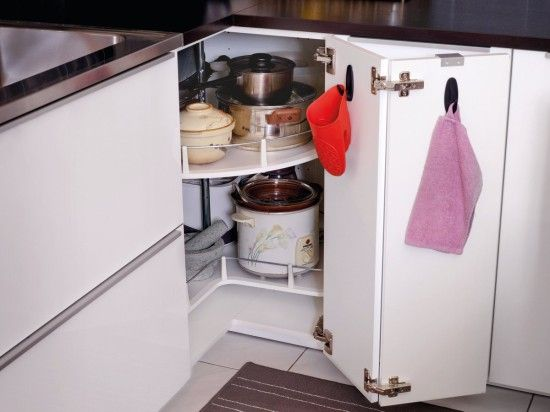 Corner cabinet carousel for my appliances
