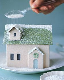 How to make paper houses...this is a tutorial round up-- lots of designs