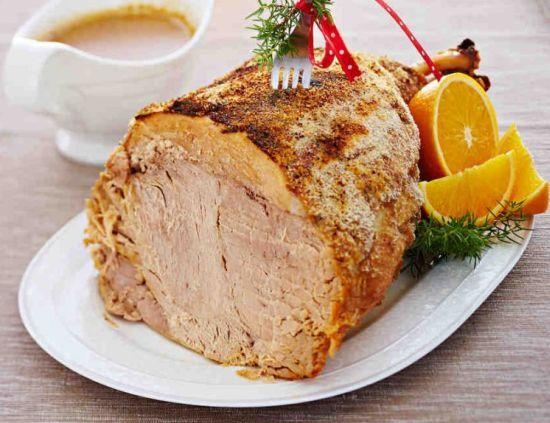 Рецепты на Рождество | Сочный рождественский окорок