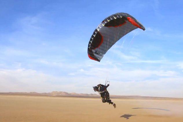 Learn fly powered parachute california