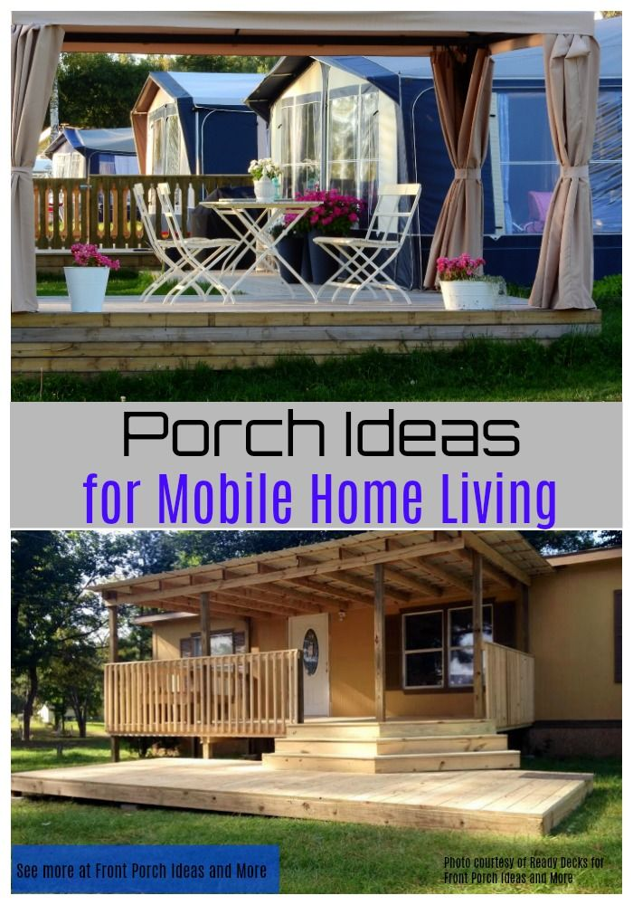 232 best Mobile Home Porch Designs images