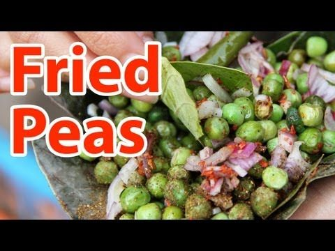 Green peas in Varanasi, India http://youtu.be/FxP_0k2taBg