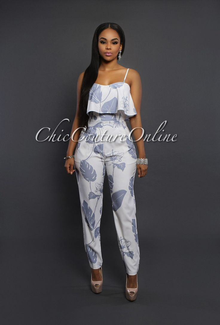 Chic Couture Online -  Joanna Blue Silver Two Piece Set, $80.00 (http://www.chiccoutureonline.com/joanna-blue-silver-two-piece-set/)