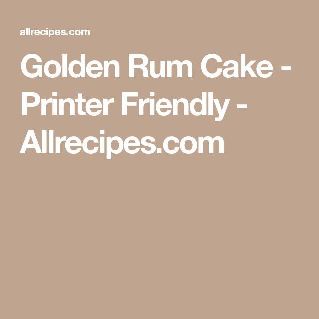 Golden Rum Cake - Printer Friendly - Allrecipes.com