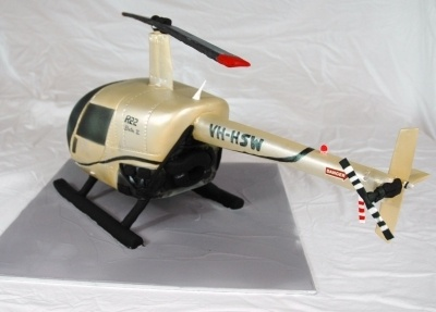 Helicopter Cake By KristyLeesCakes on CakeCentral.com