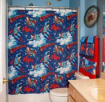 1000 Ideas About Superman Bed On Pinterest Headboard Decal Bathroom Accessories Sets And Bed
