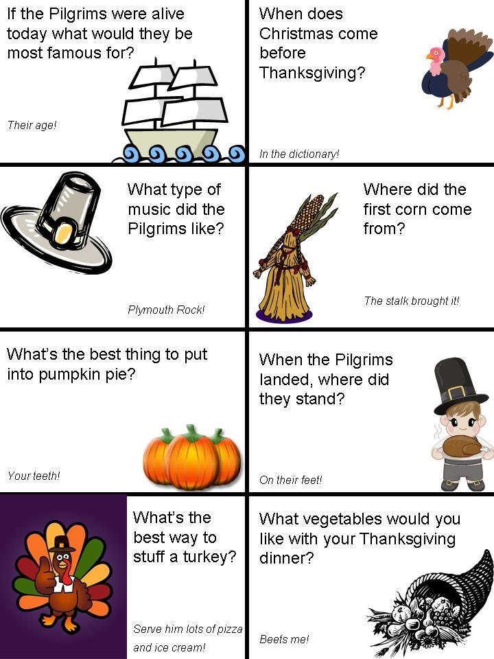 Thanksgiving lunch box jokes - page 2 | Kids | Pinterest ...