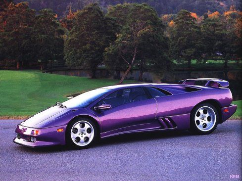 Lamborghini Diablo: will always be the one and only Lamborghini. Previous models were too boxy and newer models too gaudy. The Diablo is as elegant as a Lamborghini can get.