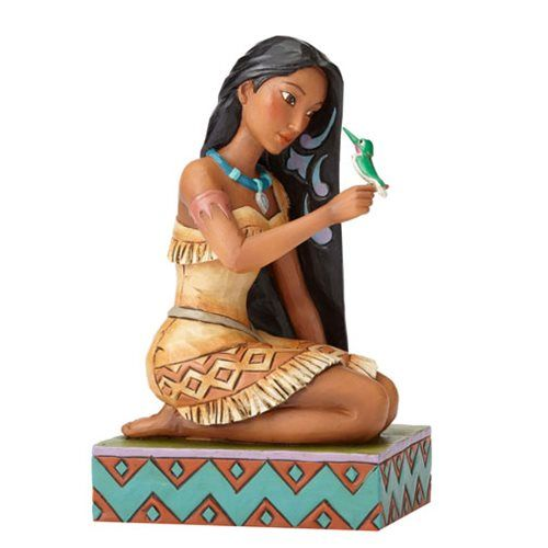 Disney Traditions Pocahontas with Bird Statue - Enesco - Pocahontas - Statues at Entertainment Earth