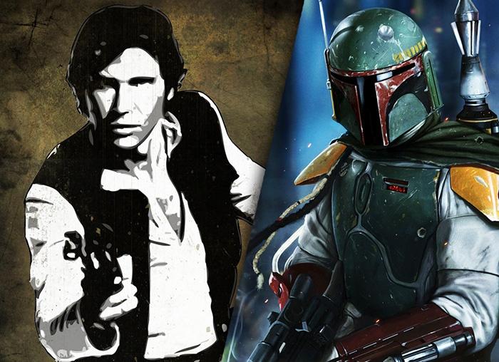 Cineast: Героями спин-оффов «Звездных войн» могут стать Хан Соло и Боба Фетт