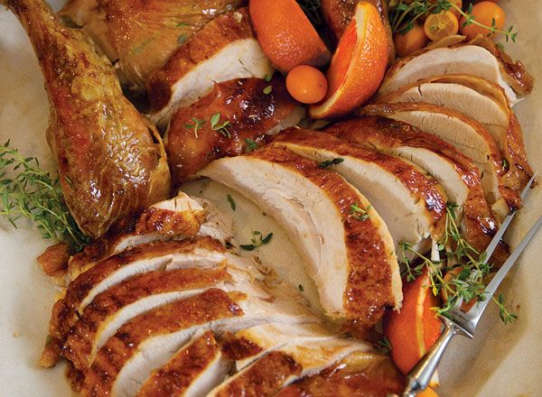 Buttery Cider-Glazed Turkey from Publix Aprons