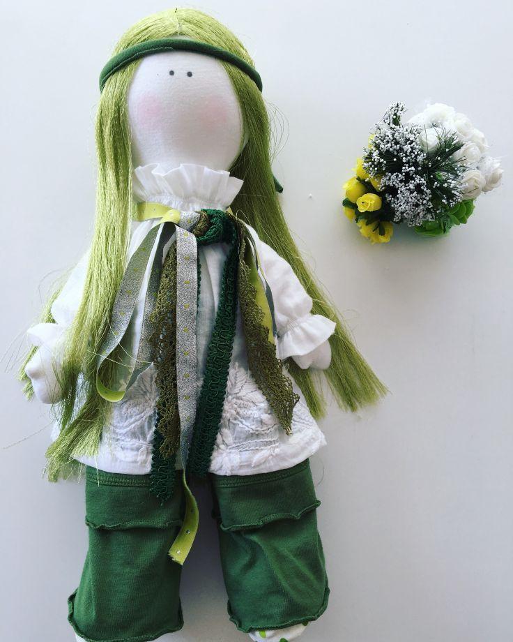Yeşil bez bebek Zet.com'da 70 TL